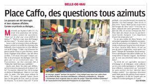 """""""Le Porteur de Parole"""" dans La Provence du 19 novembre 2016."""