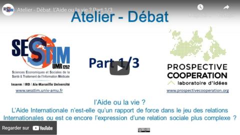 Vidéos : Atelier-débat #2 L'aide ou la vie ? Marseille le 31 octobre 2018