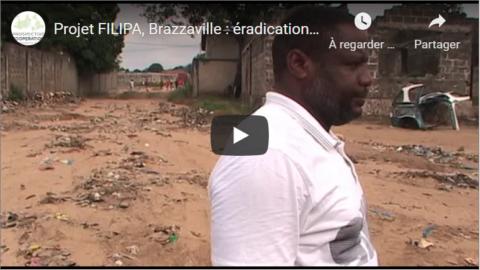 Projet FILIPA, Brazzaville : éradication d'un dépotoir par les OPC | vidéo