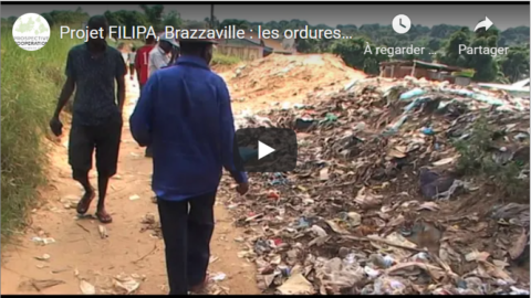FILIPA project, Brazzaville: garbage is used to build dikes | video