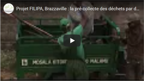 FILIPA project, Brazzaville: pre-collection of waste by small operators | video