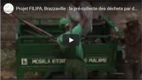 Projet FILIPA, Brazzaville : la pré-collecte des déchets par des petits opérateurs | vidéo