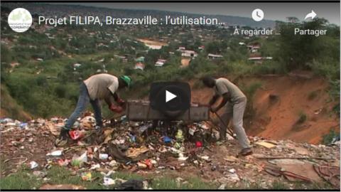 Projet FILIPA, Brazzaville : l'utilisation des déchets comme remblais contre l'érosion | vidéo