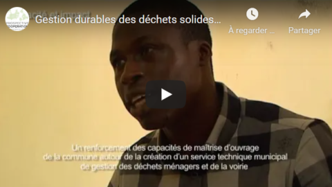 Waste management in Togo, Aného / AIMF | video